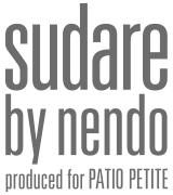 sudare by nendo produced for PATIO PETIT